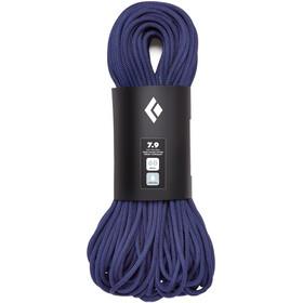 Black Diamond 7.9 Dry Lina 60m, niebieski
